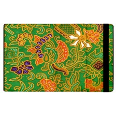 Art Batik The Traditional Fabric Apple Ipad 3/4 Flip Case by BangZart