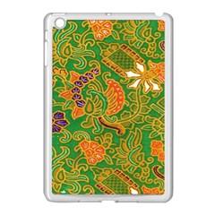 Art Batik The Traditional Fabric Apple Ipad Mini Case (white) by BangZart