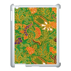 Art Batik The Traditional Fabric Apple Ipad 3/4 Case (white) by BangZart