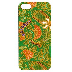 Art Batik The Traditional Fabric Apple Iphone 5 Hardshell Case With Stand