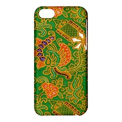 Art Batik The Traditional Fabric Apple Iphone 5c Hardshell Case by BangZart