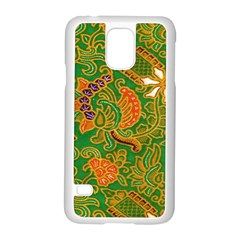 Art Batik The Traditional Fabric Samsung Galaxy S5 Case (white)