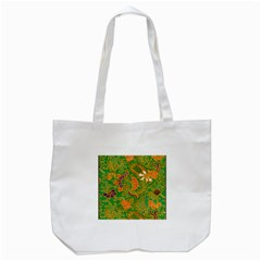 Art Batik The Traditional Fabric Tote Bag (white) by BangZart