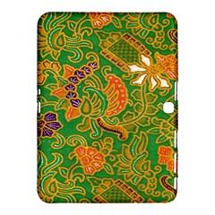 Art Batik The Traditional Fabric Samsung Galaxy Tab 4 (10 1 ) Hardshell Case  by BangZart