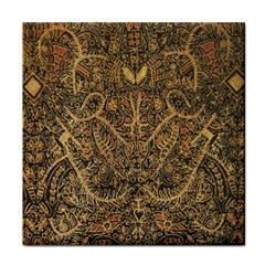 Art Indonesian Batik Tile Coasters