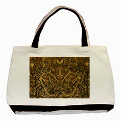 Art Indonesian Batik Basic Tote Bag by BangZart
