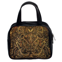 Art Indonesian Batik Classic Handbags (2 Sides)