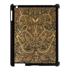 Art Indonesian Batik Apple Ipad 3/4 Case (black) by BangZart