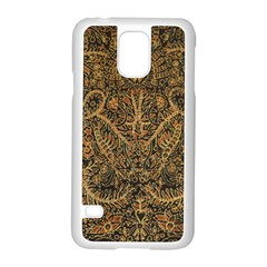 Art Indonesian Batik Samsung Galaxy S5 Case (white)