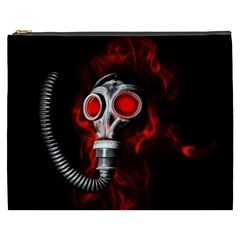 Gas Mask Cosmetic Bag (xxxl)  by Valentinaart