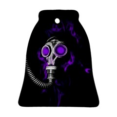 Gas Mask Bell Ornament (two Sides) by Valentinaart