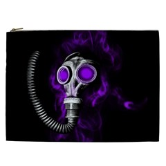 Gas Mask Cosmetic Bag (xxl)  by Valentinaart