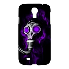 Gas Mask Samsung Galaxy S4 I9500/i9505 Hardshell Case by Valentinaart