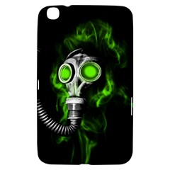 Gas Mask Samsung Galaxy Tab 3 (8 ) T3100 Hardshell Case  by Valentinaart