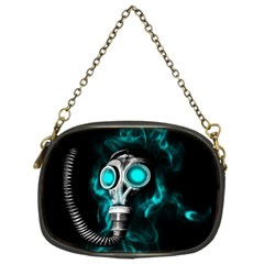 Gas Mask Chain Purses (two Sides)  by Valentinaart