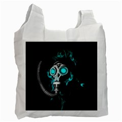 Gas Mask Recycle Bag (one Side) by Valentinaart