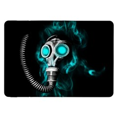 Gas Mask Samsung Galaxy Tab 8 9  P7300 Flip Case by Valentinaart