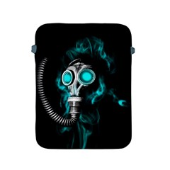 Gas Mask Apple Ipad 2/3/4 Protective Soft Cases by Valentinaart
