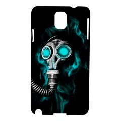Gas Mask Samsung Galaxy Note 3 N9005 Hardshell Case by Valentinaart