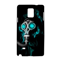 Gas Mask Samsung Galaxy Note 4 Hardshell Case by Valentinaart