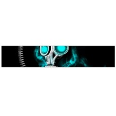 Gas Mask Flano Scarf (large) by Valentinaart