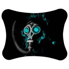 Gas Mask Jigsaw Puzzle Photo Stand (bow) by Valentinaart
