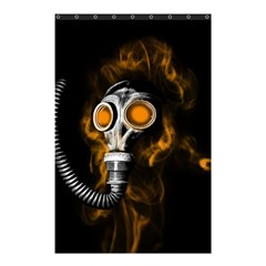 Gas Mask Shower Curtain 48  X 72  (small)  by Valentinaart