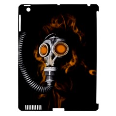 Gas Mask Apple Ipad 3/4 Hardshell Case (compatible With Smart Cover) by Valentinaart