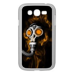 Gas Mask Samsung Galaxy Grand Duos I9082 Case (white) by Valentinaart