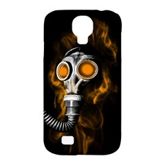 Gas Mask Samsung Galaxy S4 Classic Hardshell Case (pc+silicone) by Valentinaart