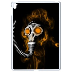 Gas Mask Apple Ipad Pro 9 7   White Seamless Case by Valentinaart
