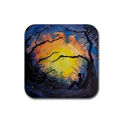 Soul Offering Rubber Coaster (square)  by Dimkad