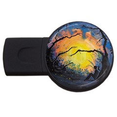 Soul Offering Usb Flash Drive Round (2 Gb) by Dimkad