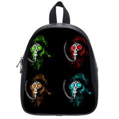 Gas Mask School Bags (small)  by Valentinaart