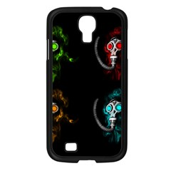 Gas Mask Samsung Galaxy S4 I9500/ I9505 Case (black) by Valentinaart