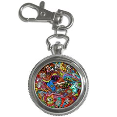 Art Color Dark Detail Monsters Psychedelic Key Chain Watches