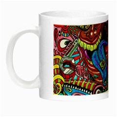 Art Color Dark Detail Monsters Psychedelic Night Luminous Mugs by BangZart