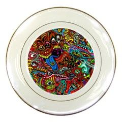 Art Color Dark Detail Monsters Psychedelic Porcelain Plates by BangZart