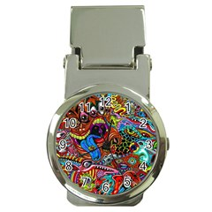 Art Color Dark Detail Monsters Psychedelic Money Clip Watches by BangZart