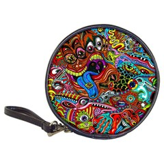 Art Color Dark Detail Monsters Psychedelic Classic 20 Cd Wallets by BangZart