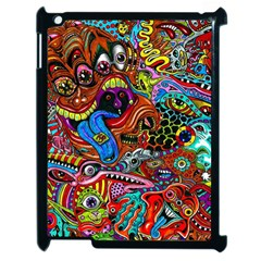 Art Color Dark Detail Monsters Psychedelic Apple Ipad 2 Case (black) by BangZart