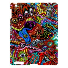 Art Color Dark Detail Monsters Psychedelic Apple Ipad 3/4 Hardshell Case