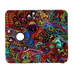 Art Color Dark Detail Monsters Psychedelic Galaxy S3 (flip/folio) by BangZart