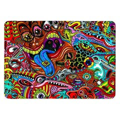 Art Color Dark Detail Monsters Psychedelic Samsung Galaxy Tab 8 9  P7300 Flip Case by BangZart