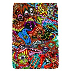 Art Color Dark Detail Monsters Psychedelic Flap Covers (s)  by BangZart