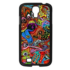 Art Color Dark Detail Monsters Psychedelic Samsung Galaxy S4 I9500/ I9505 Case (black) by BangZart