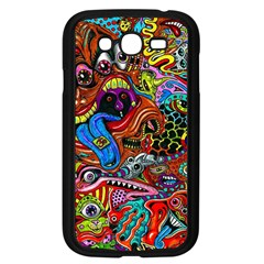 Art Color Dark Detail Monsters Psychedelic Samsung Galaxy Grand Duos I9082 Case (black) by BangZart