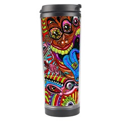 Art Color Dark Detail Monsters Psychedelic Travel Tumbler by BangZart