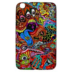 Art Color Dark Detail Monsters Psychedelic Samsung Galaxy Tab 3 (8 ) T3100 Hardshell Case