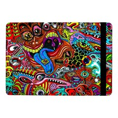 Art Color Dark Detail Monsters Psychedelic Samsung Galaxy Tab Pro 10 1  Flip Case by BangZart